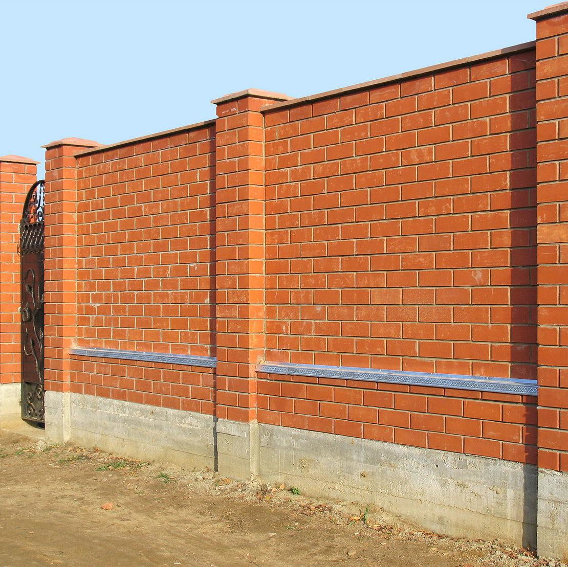 Как сделать капитальный забор